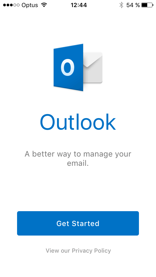 Get started on iOS by Outlook from UIGarage