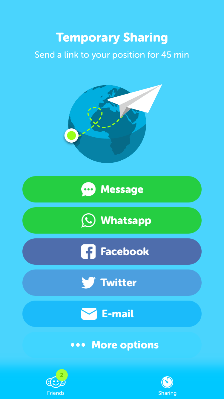 Sharing screen on iOS by Zenly from UIGarage