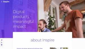 Inspire Website Design from UIGarage