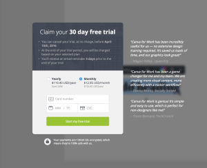 Advertising by Canva from UIGarage