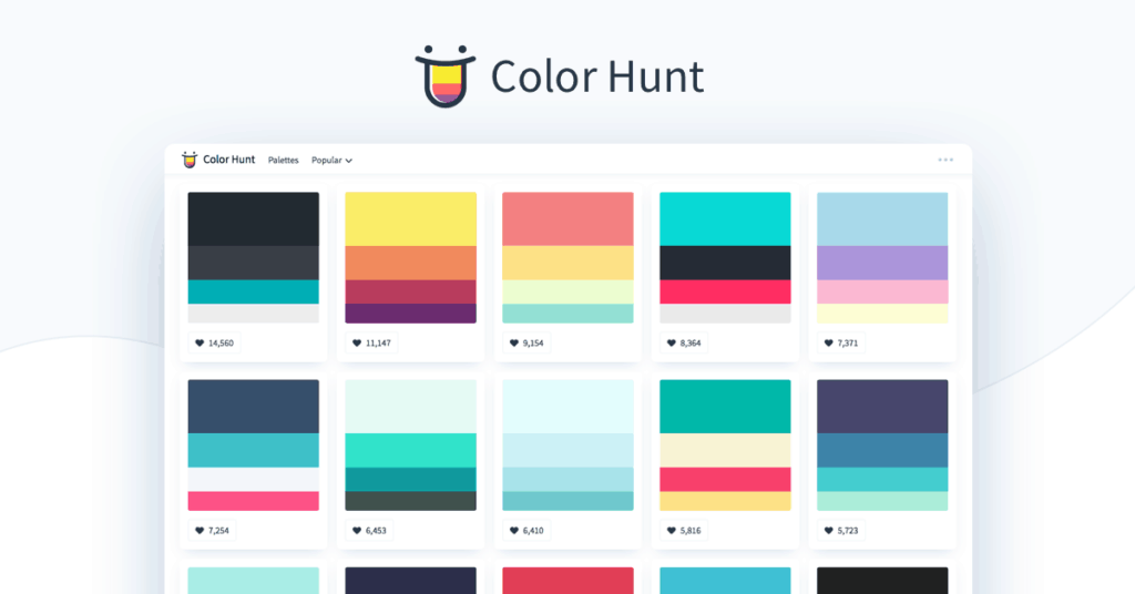 ColorHunt from UIGarage