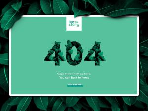 404 Page by Pedro Monteiro from UIGarage
