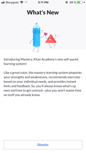 What's New by Khan Academy from UIGarage