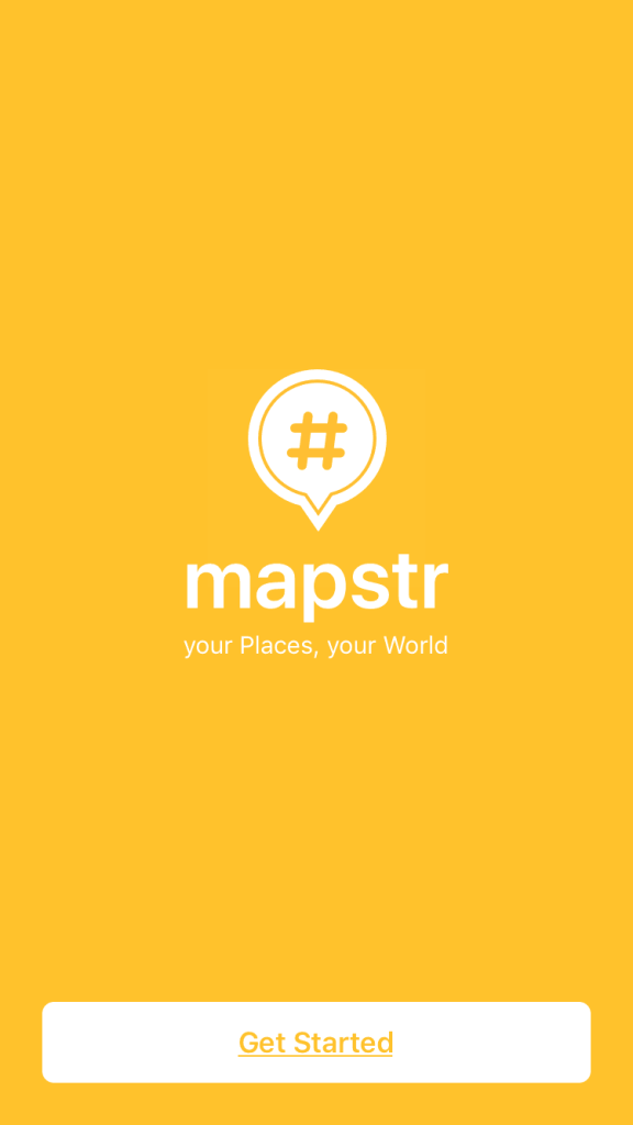 Onboarding on iOS by Mapstr from UIGarage