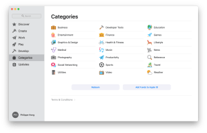 Categories by Mac App Store from UIGarage