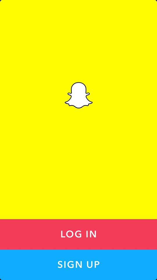 Launch Screen on iOS by Snapchat 2019 from UIGarage