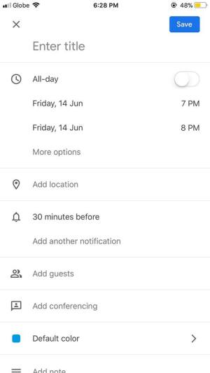 Create on iOS by Google Calendar from UIGarage