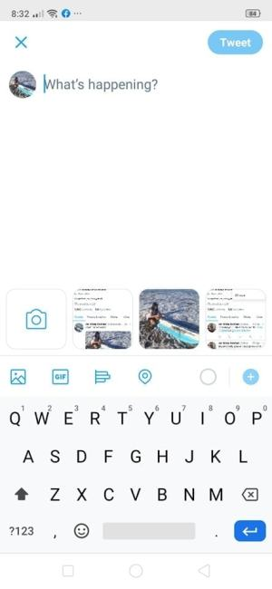 Create Tweet on Android by Twitter from UIGarage