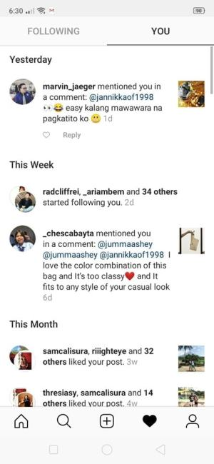 Notifications on Android by Instagram from UIGarage