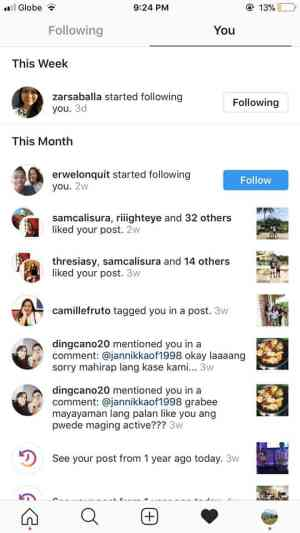 Notifications on iOS by Instagram 2019 from UIGarage