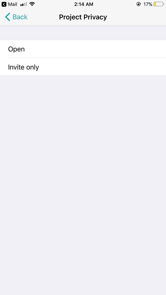Project Privacy on iOS by Superday from UIGarage