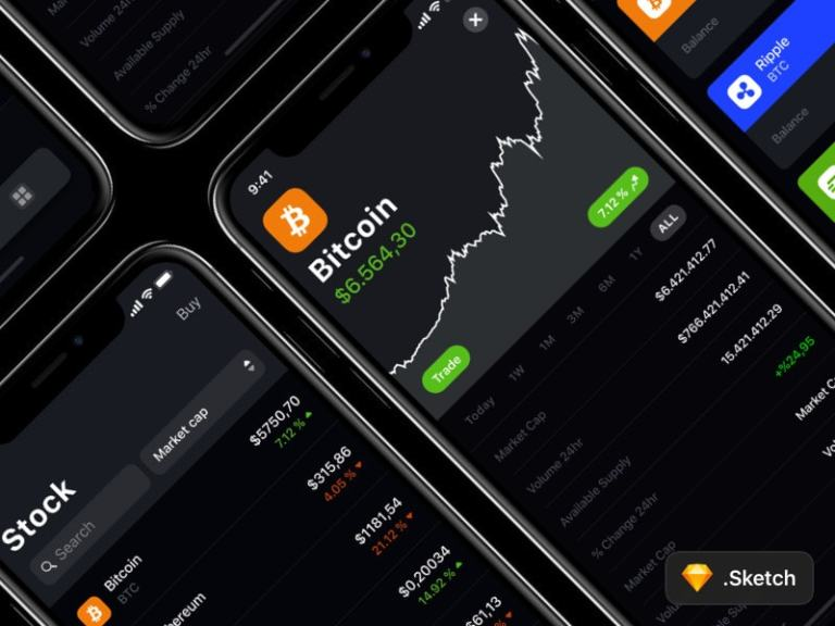 Crypto Currency App from UIGarage