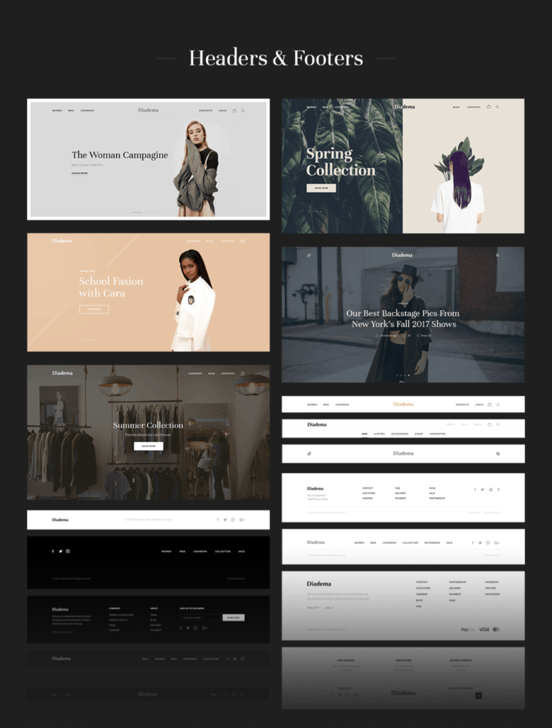 Diadema – UI Kit Web eCommerce from UIGarage