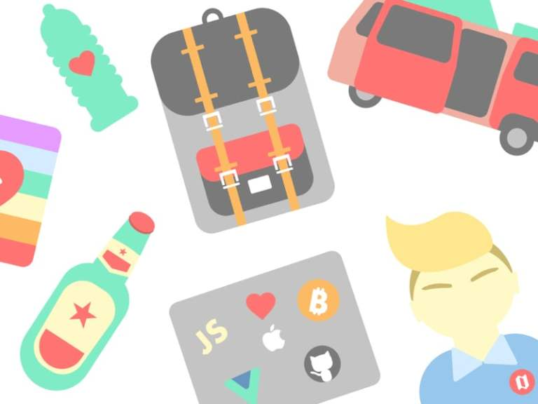 Digital Nomad Starter Icon Pack from UIGarage