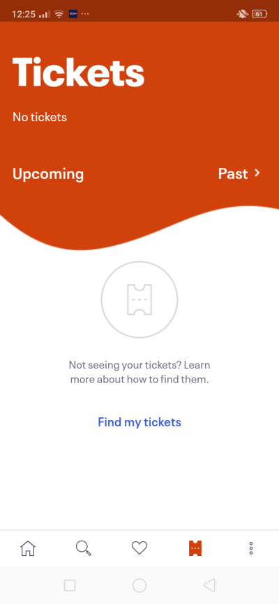 Tickets on Android by EventBrite from UIGarage