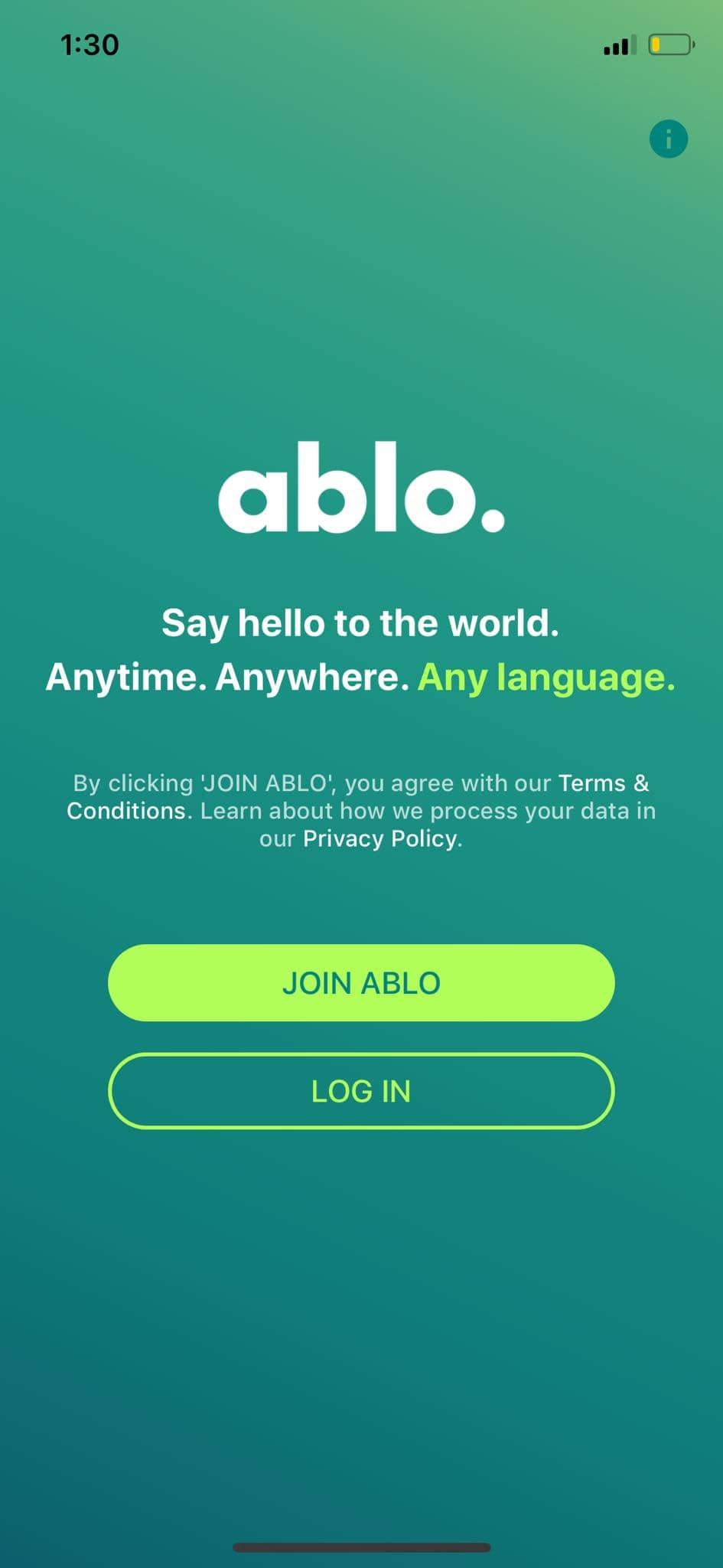 Join on iOS by Ablo from UIGarage