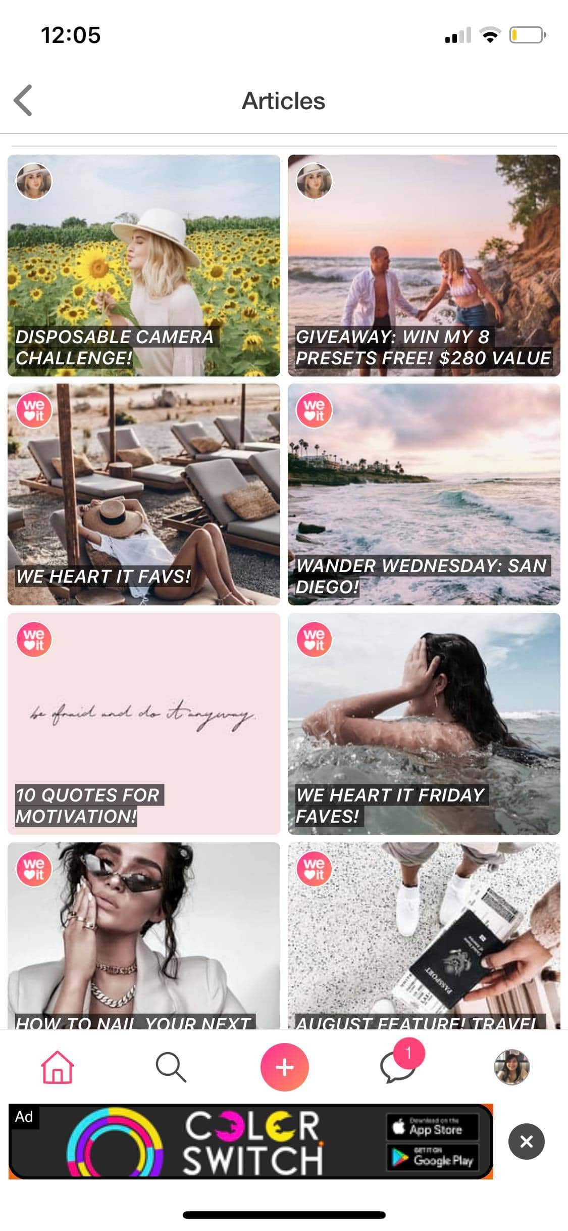 Articles on iOS by We Heart It from UIGarage