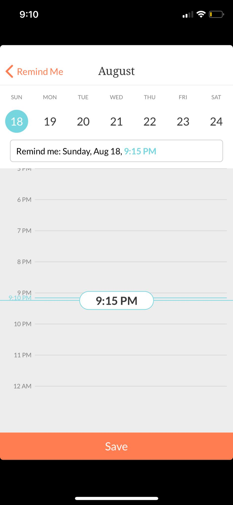 Calendar on iOS by Handle from UIGarage