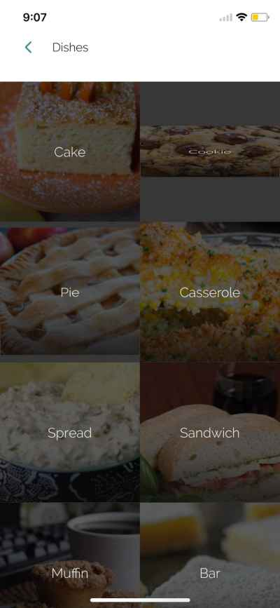 Dishes on iOS by Yummly from UIGarage