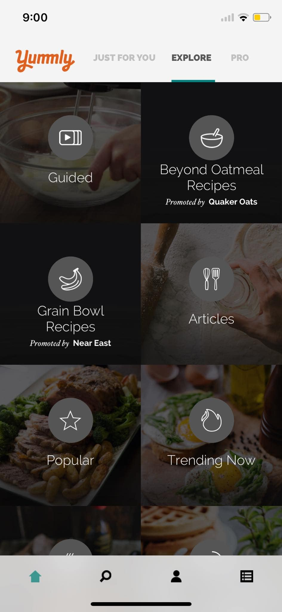 Explore on iOS by Yummly from UIGarage