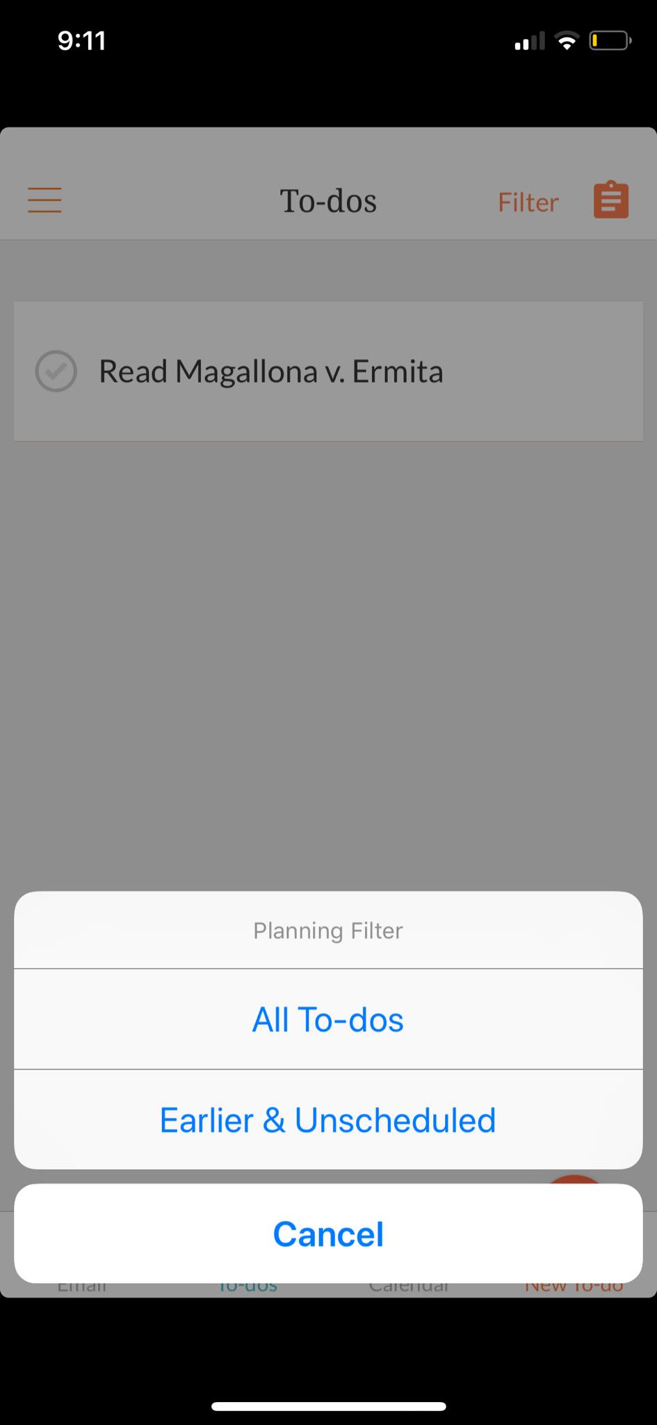 Filter on iOS by Handle from UIGarage