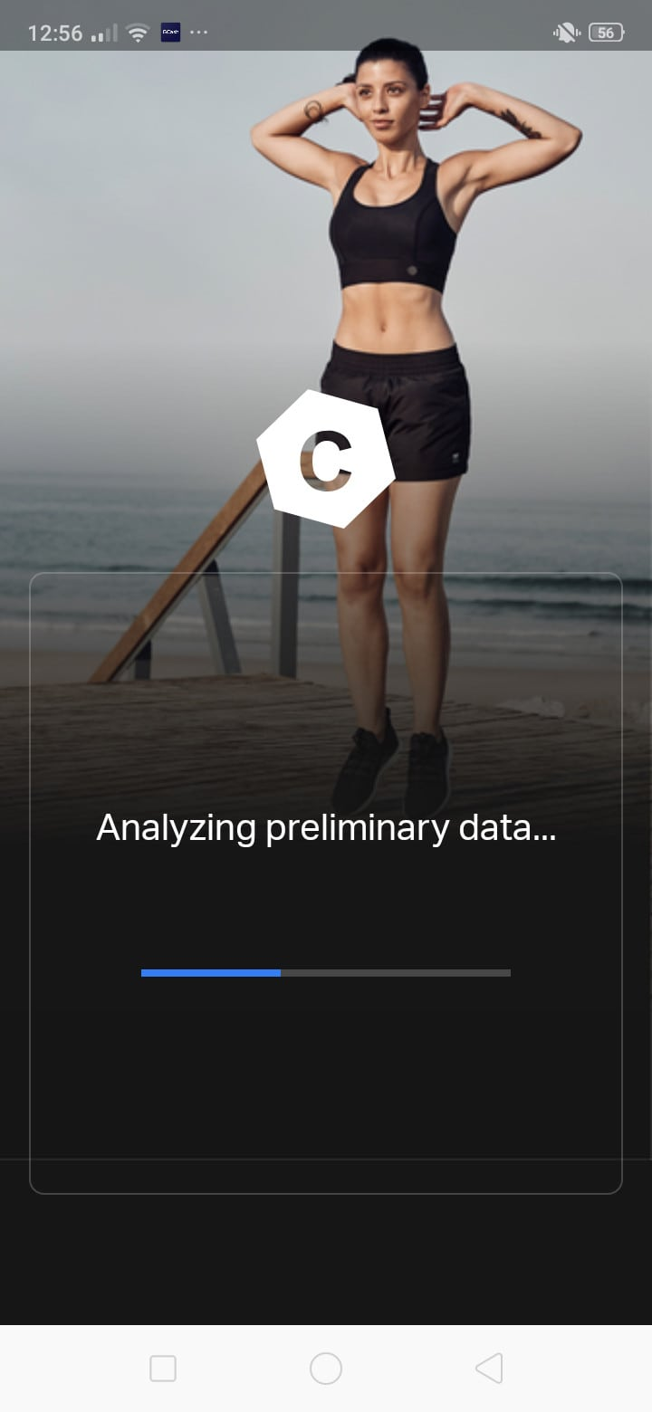 Loading on Android by Freeletics from UIGarage