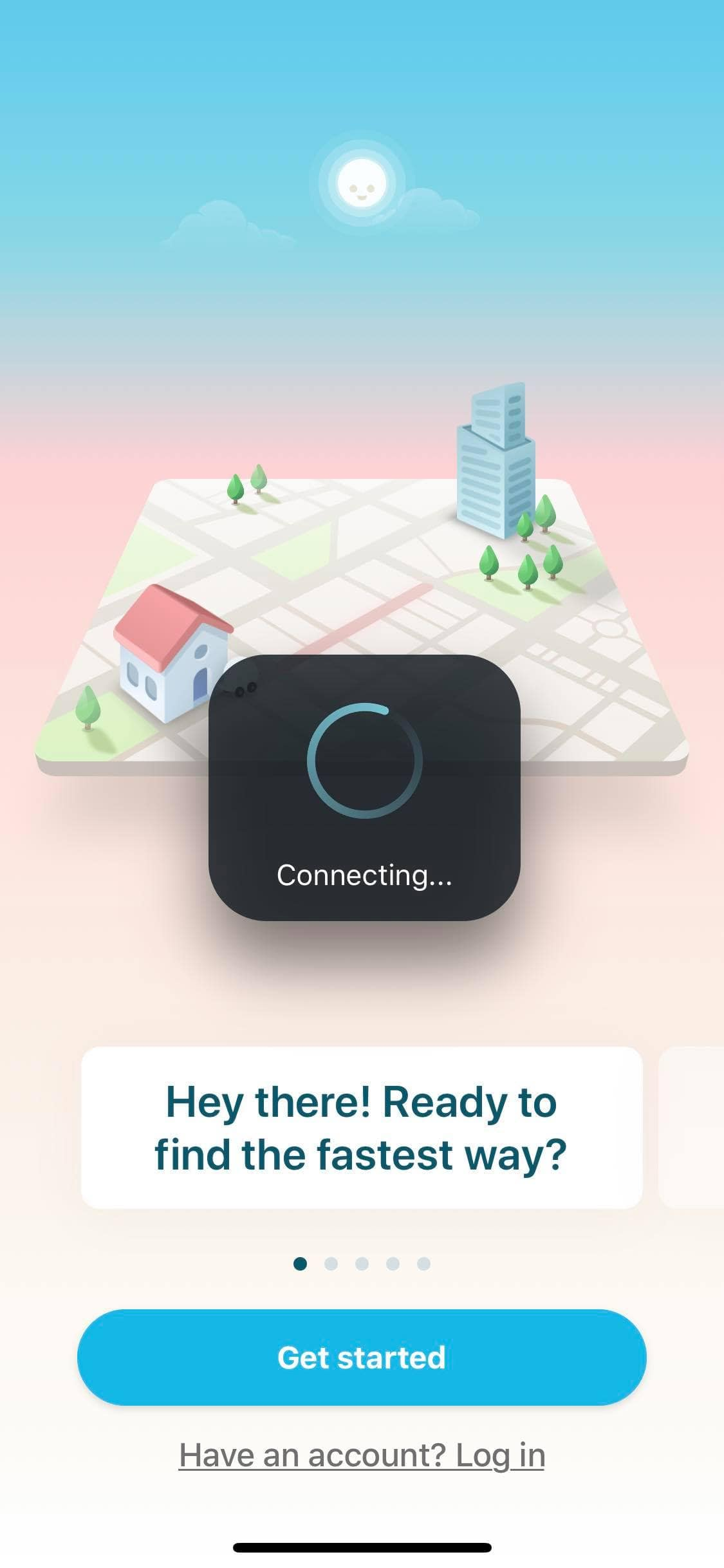 Loading on iOS by Waze from UIGarage