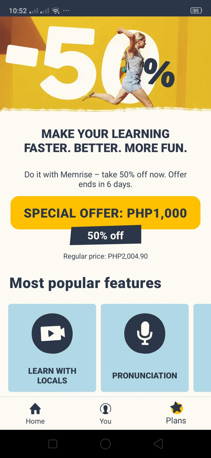 Go Premium on Android by Memrise from UIGarage