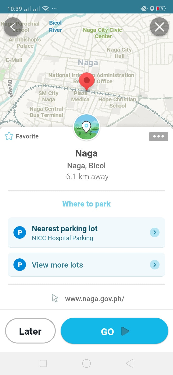 Content Screen on Android by Waze from UIGarage