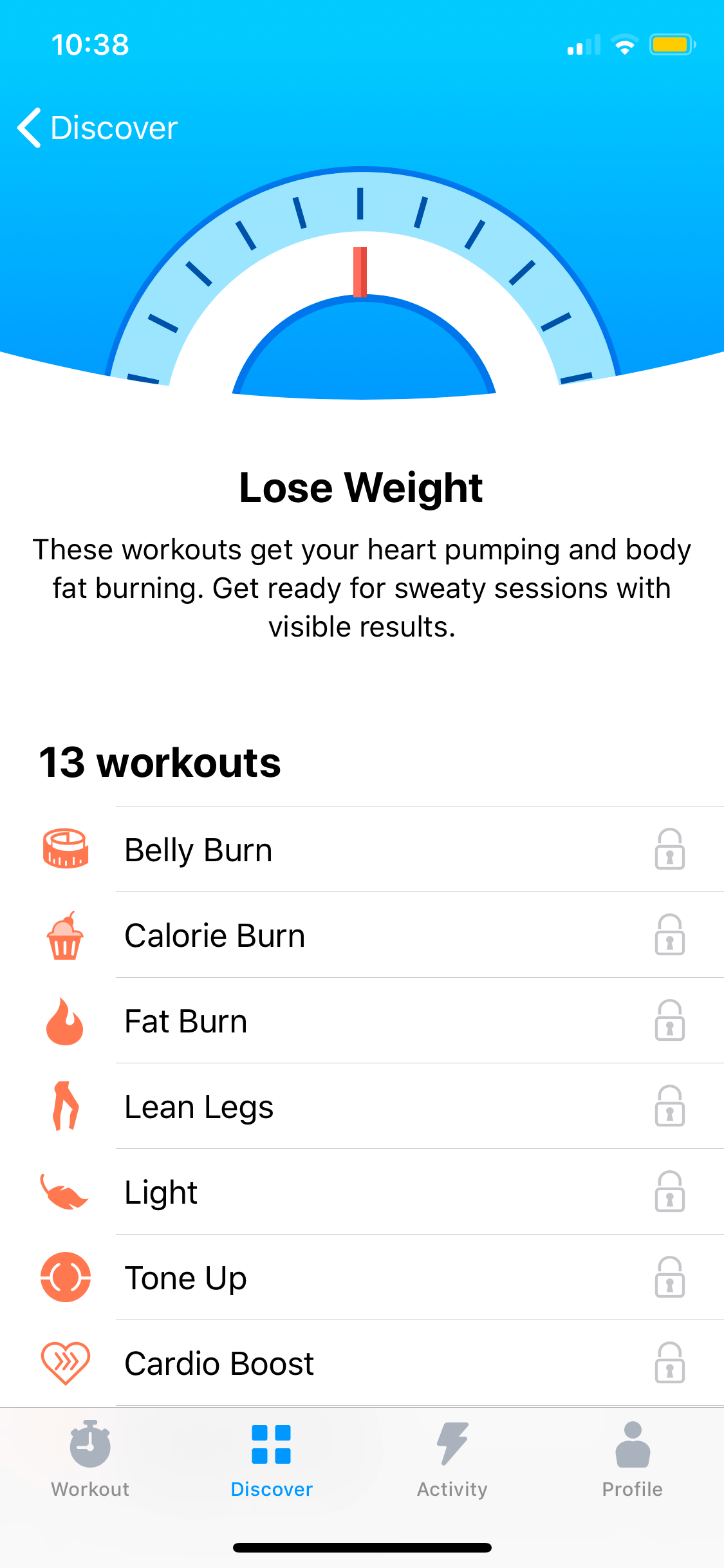 Lose Weight on iOS by Seven from UIGarage