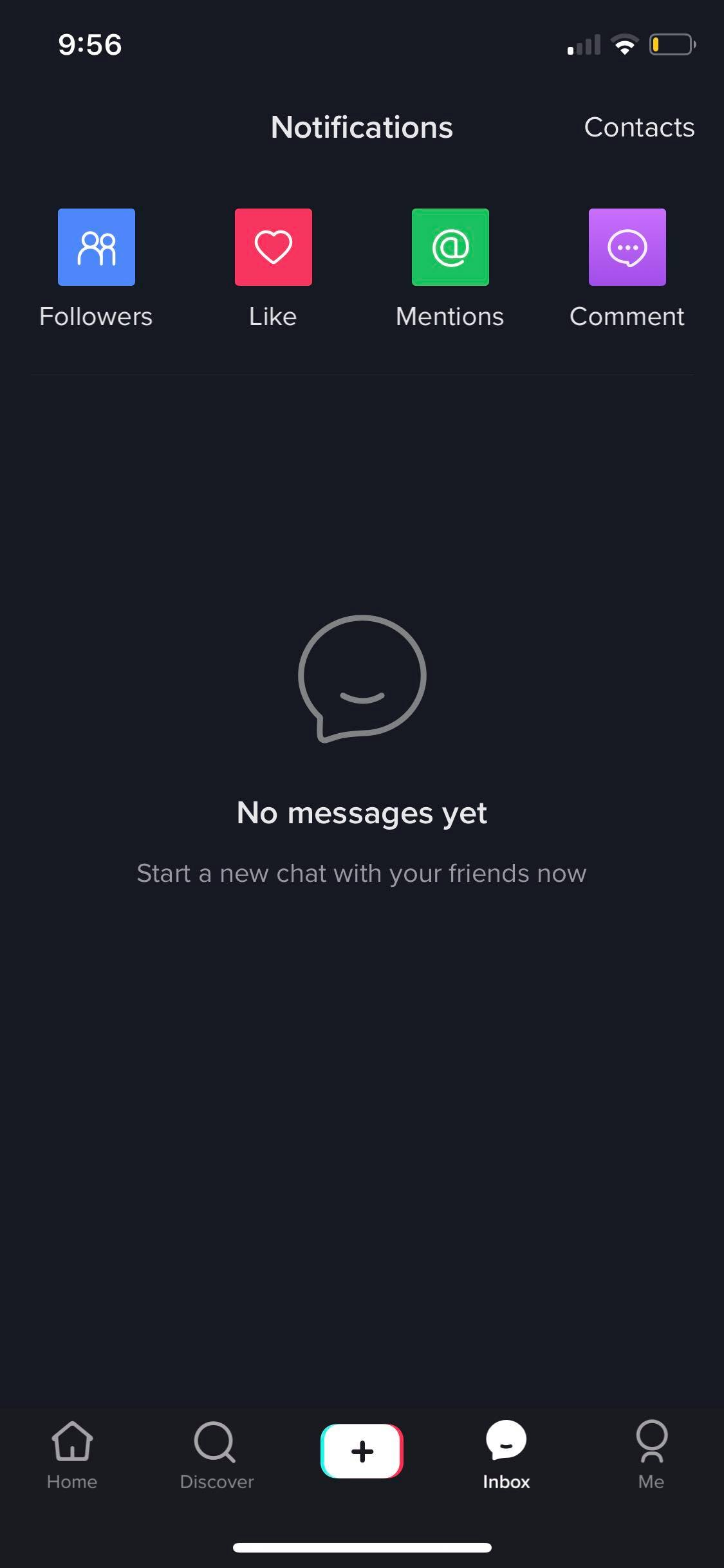 Messages on iOS by Tiktok from UIGarage