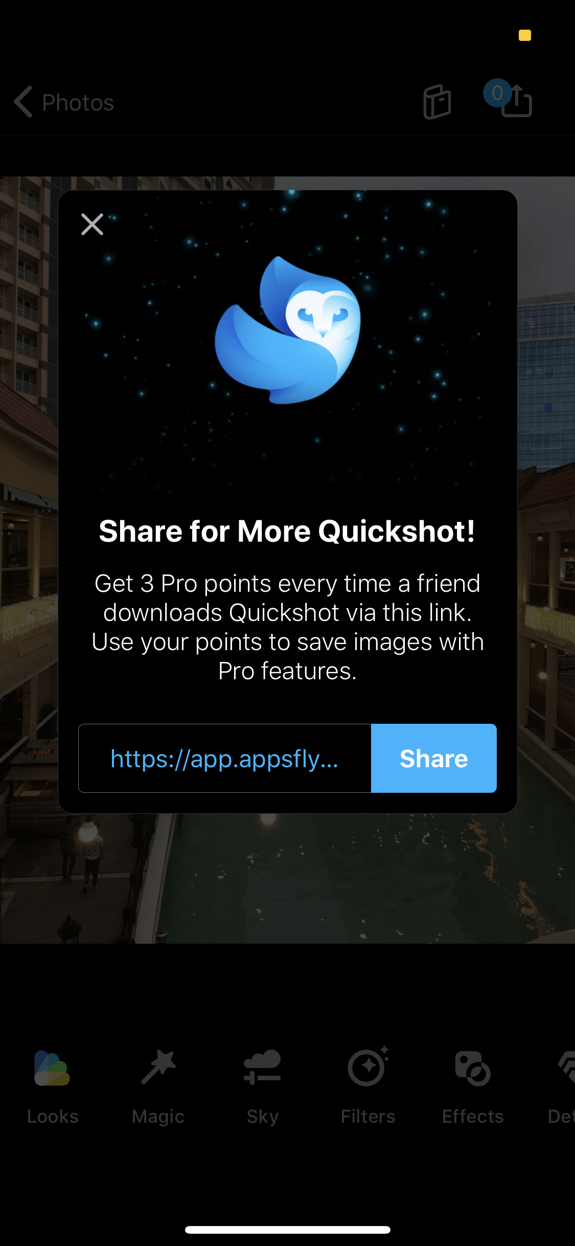 Share on iOS by Quickshot from UIGarage