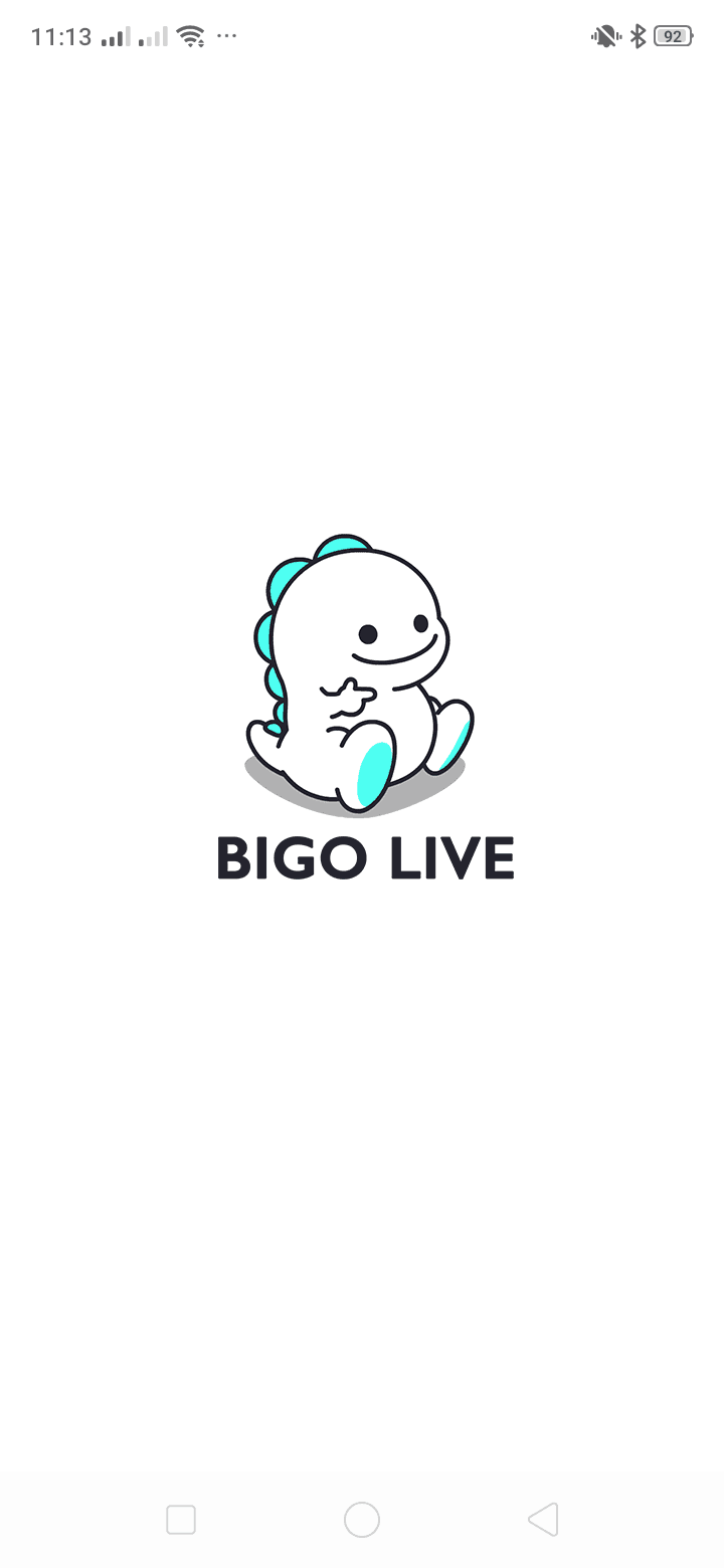Launch Screen on Android by Bigo Live from UIGarage