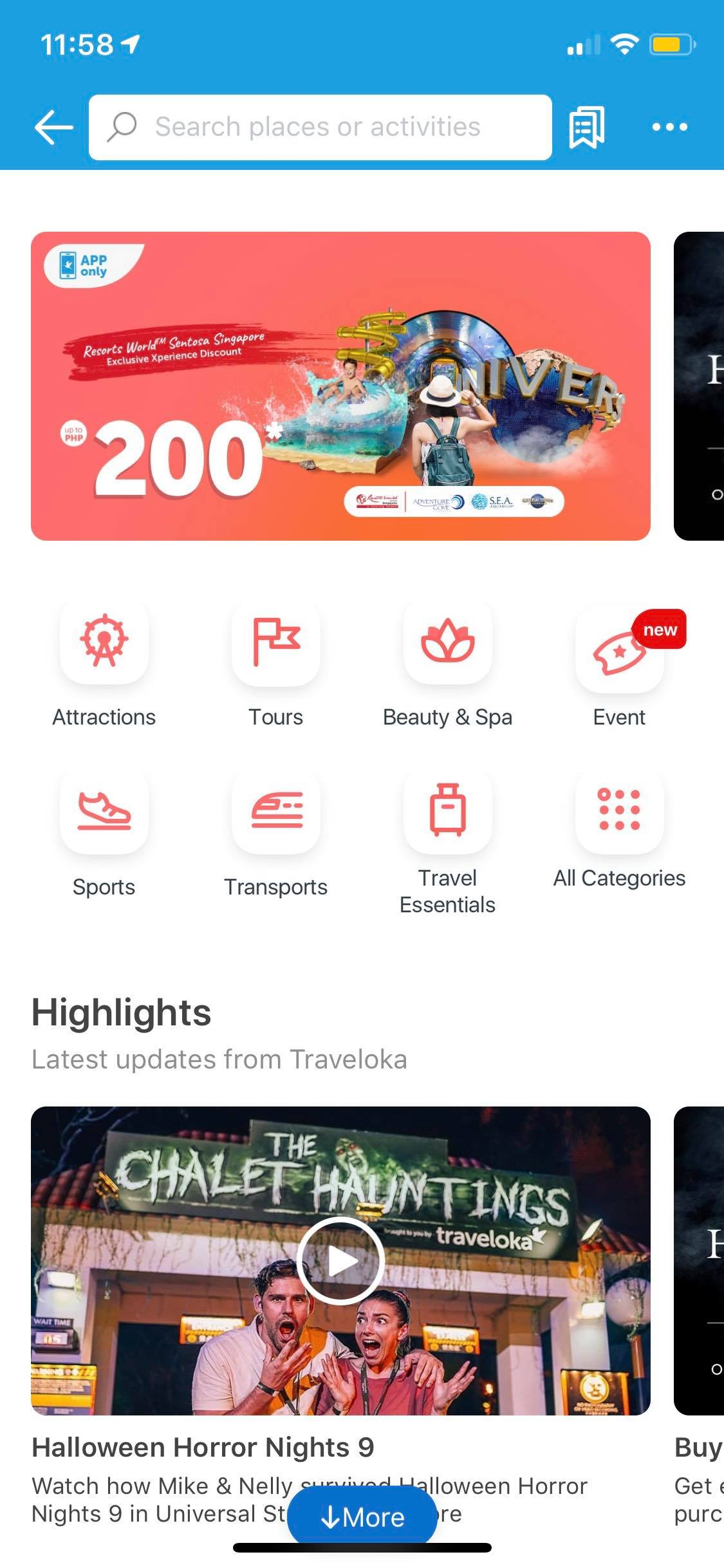 Xperience on iOS by Traveloka from UIGarage
