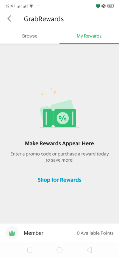 Grab Rewards on Android by Grab from UIGarage