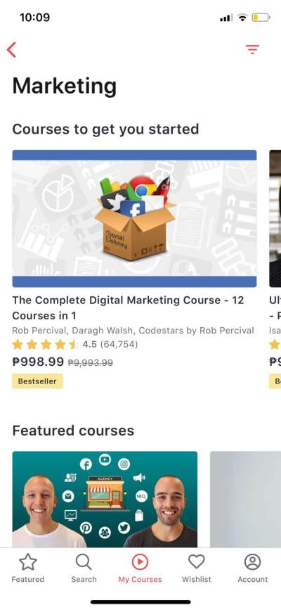 Marketing on iOS by Udemy from UIGarage