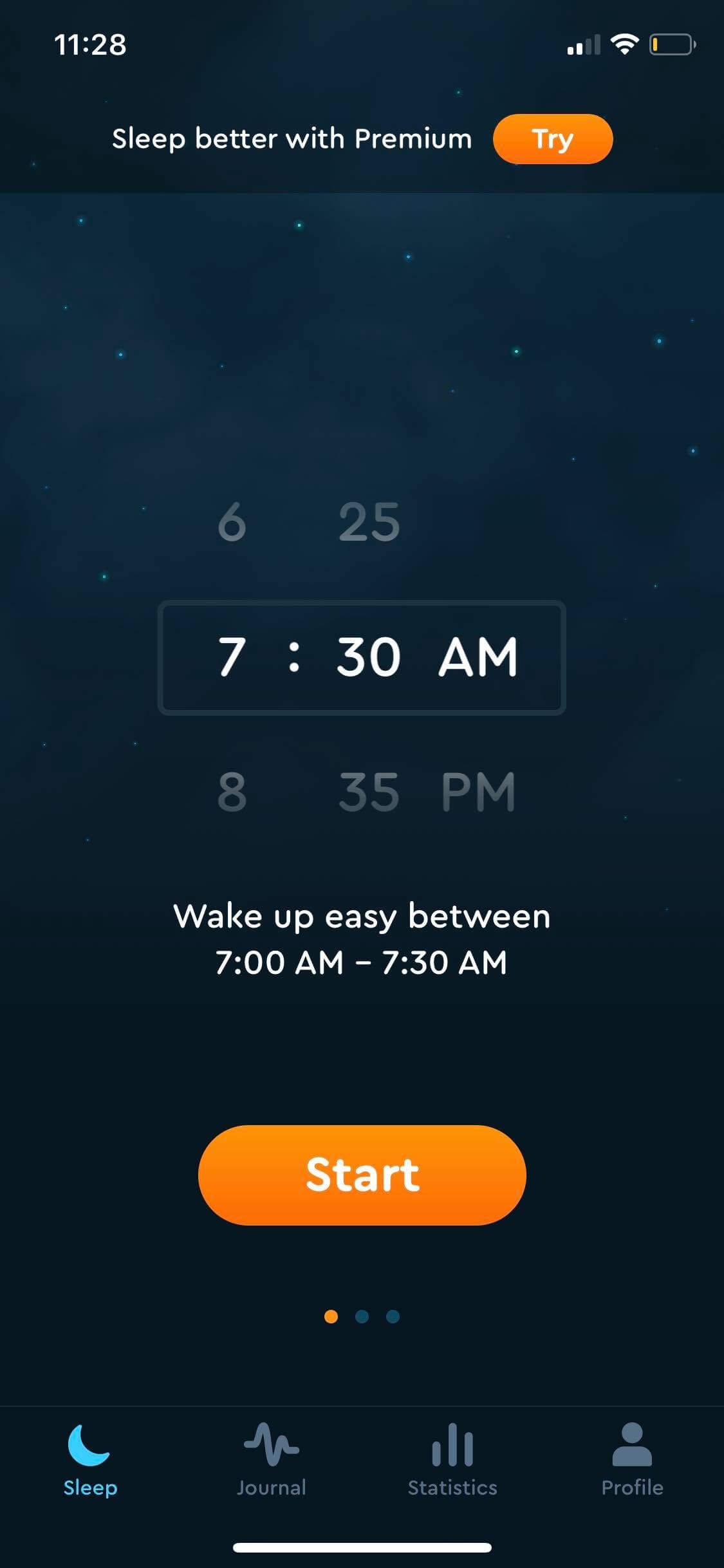 Time Picker on iOS by Sleep Cycle from UIGarage