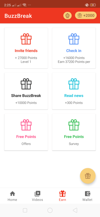 Earn on Android by BuzzBreak from UIGarage