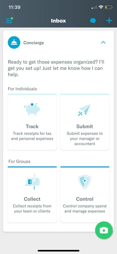 Inbox on iOS by Expensify from UIGarage