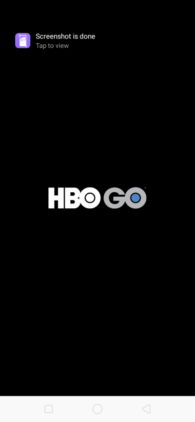 Launch Screen on Android by HBO GO from UIGarage