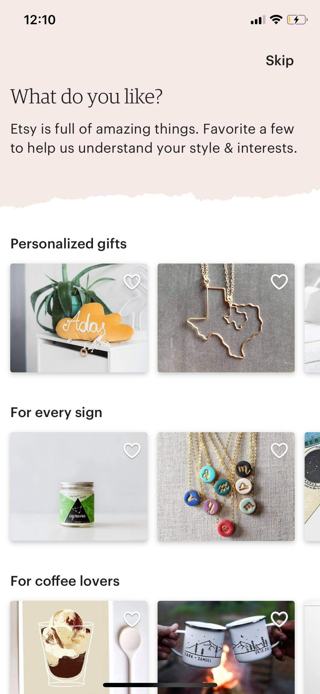 Onboarding on iOS by Etsy from UIGarage