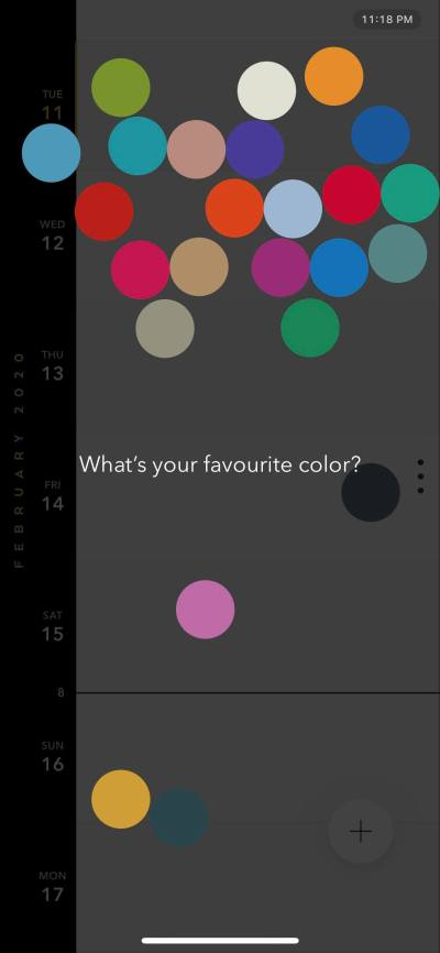 Color Picker on iOS by Time Page from UIGarage