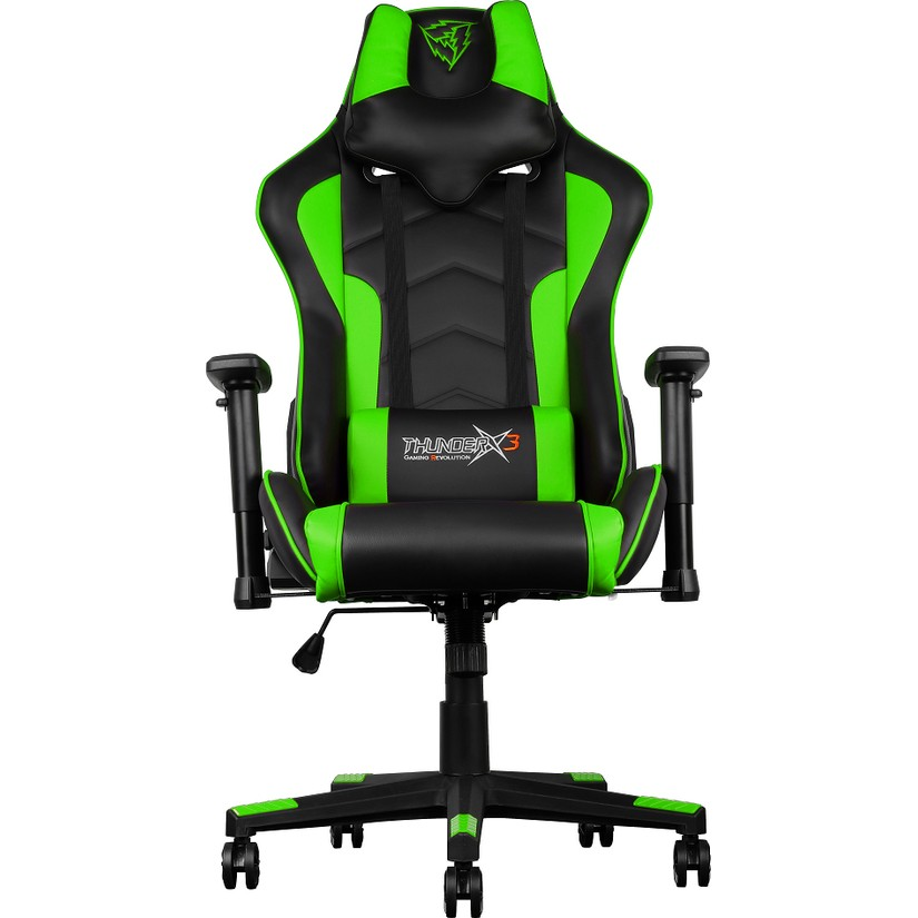 razer gaming chair rail tile lowes thunderx3 tgc22 series black green umart com au