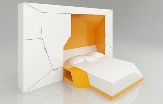 Bedroom In A Box A Futuristic Murphy Bed