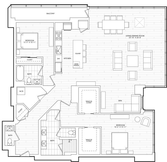 Distinctive Design at a Distinctive Address: 2501 M Street