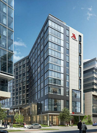 Design and Timeline Presented for New Marriott