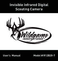 Wildgame Innovations 360 CRUSH™ Cam Lightsout™ Manual