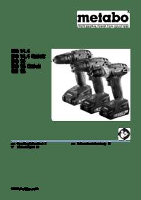 Metabo SB 18 Mode d'emploi