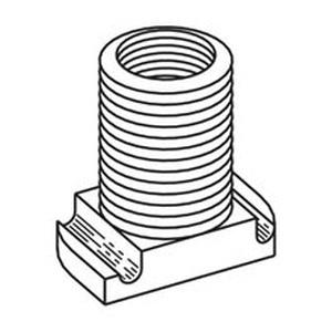 B-Line B393-1-AL Cast Aluminum Wiring Stud 1/2-Inch