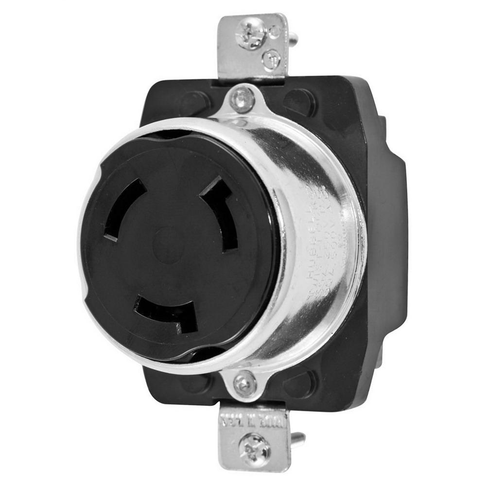hight resolution of hubbell wiring hbl3769 screw mount non nema single receptacle 50 amp 250 volt 50 amp ac wiring